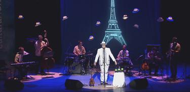 """Michel Tasky apresenta """"Um Malandro em Paris"""""""