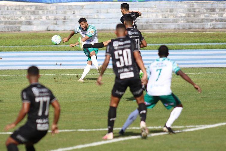 Papão alega erro da arbitragem para pedir anulação da partida de ida das quartas de final da Copa Verde.