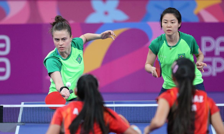 tênis de mesa seleção feminina