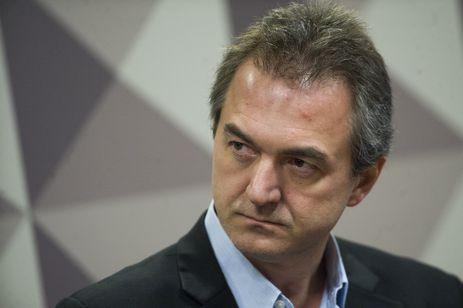 Brasília - O empresário Joesley Batista durante depoimento na Comissão Parlamentar Mista de Inquérito da JBS (Marcelo Camargo/Agência Brasil)