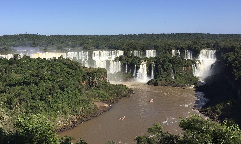 Cataratas do Iguaçu em Foz do Iguaçu/PR