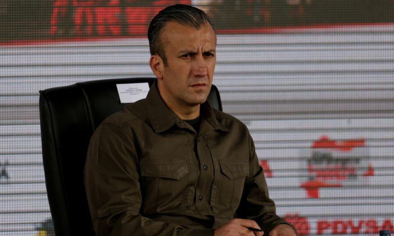 O vice-presidente da Venezuela, Tareck El Aissami, acusado pelos Estados Unidos de ser traficante de drogas internacional