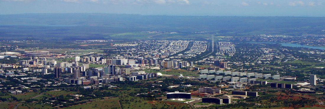 Vista aérea de Brasília - Asa Norte