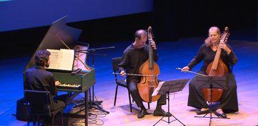 Músicos Kristina Augustin, Mario Orlando e Eduardo Antonello participam do Partituras