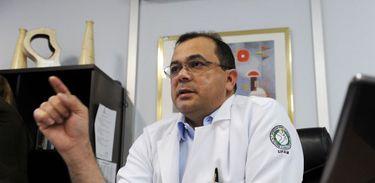 Ex-secretário de saúde do Amazonas, Pedro Elias