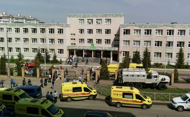 Deadly school shooting in Kazan