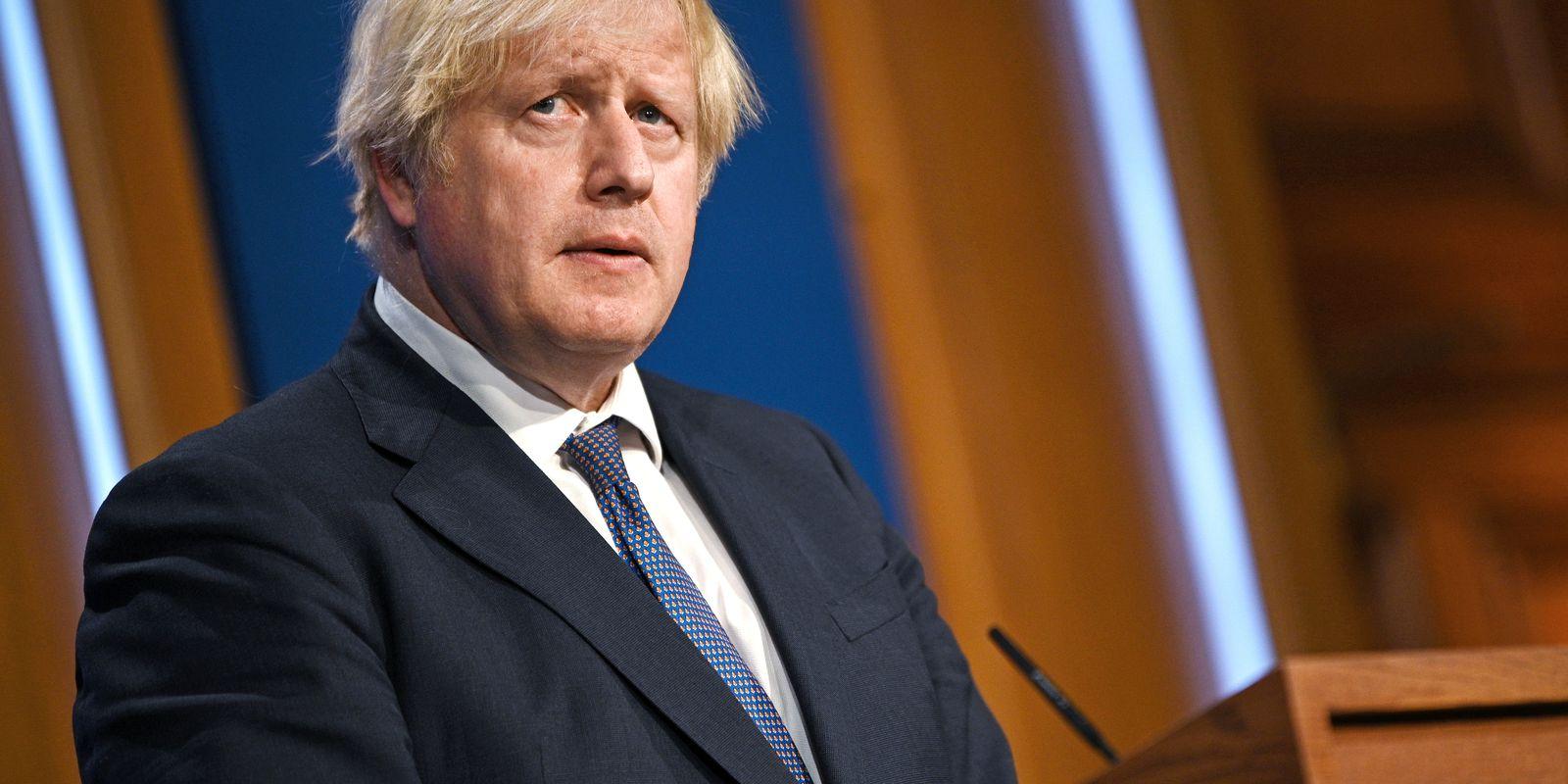 Premiê britânico, Boris Johnson
