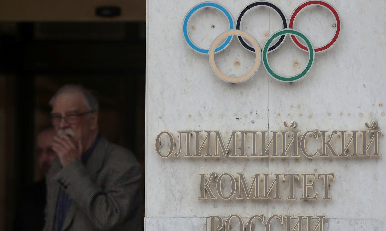 Sede do Comitê Olímpico da Rússia em Moscou