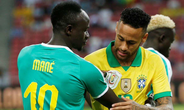 Brasil e Senegal, esporte, futebol   REUTERS/Feline Lim