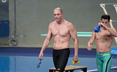 Nadador paralímpico Carlos Farrenberg