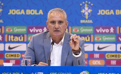 Tite convoca 23 jogadores para defenderem a seleção brasileiras nas eliminatórias da Copa do Catar