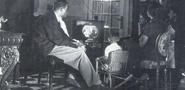 O dia 18 de setembro marca a primeira transmissão aberta da televisão