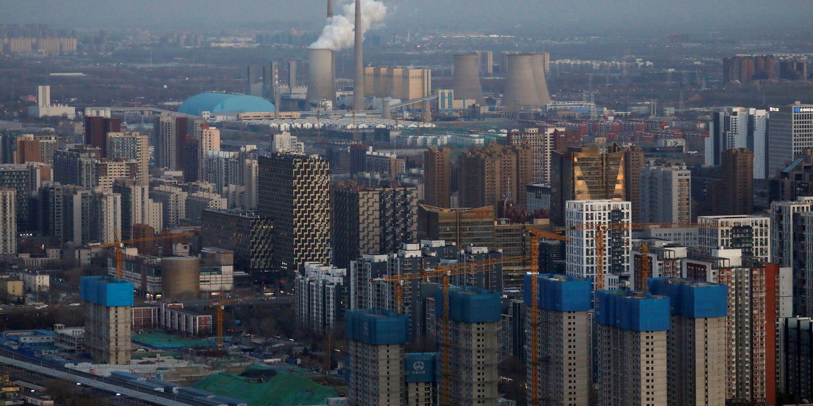 Distrito empresarial de Pequim. REUTERS/Tingshu Wang/File Photo