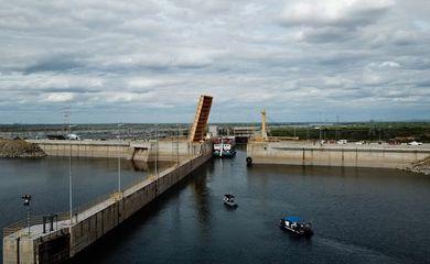 DNIT retoma operação da eclusa de Sobradinho.