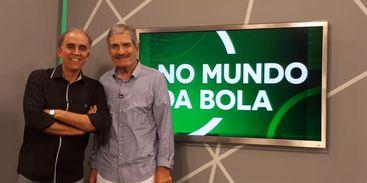 Sergio du Bocage e Márcio Guedes. No Mundo da Bola, TV Brasil