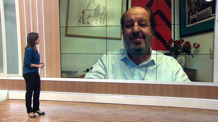ransporte aéreo de passageiros caiu 93% por causa do coronavírus, comenta presidente da Abear, Eduardo Sanovitz
