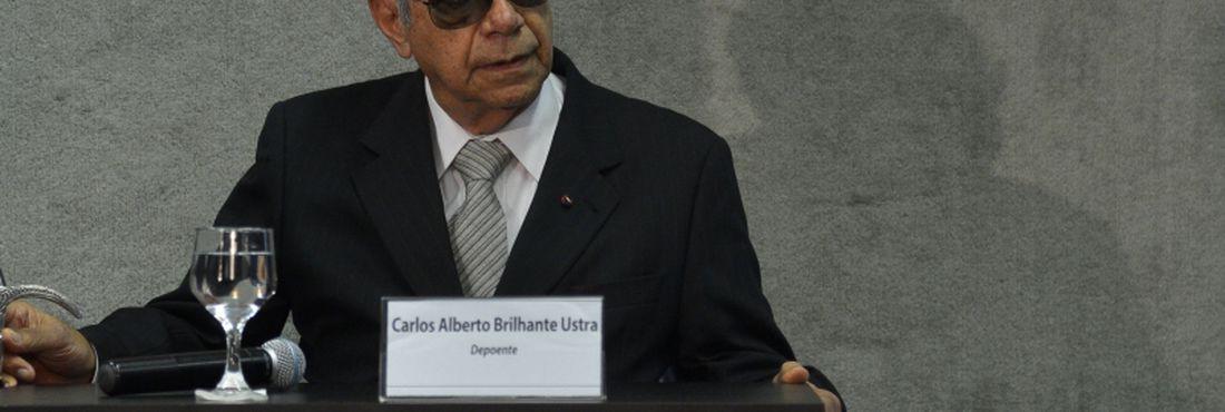 Coronel Ustra presta depoimento à Comissão Nacional da Verdade