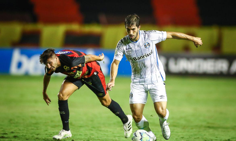 Sport e Grêmio empataram no Recife por 1 a 1