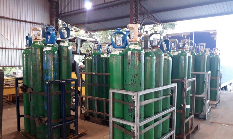 cilindros de oxigênio
