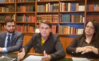 Live semanal Bolsonaro
