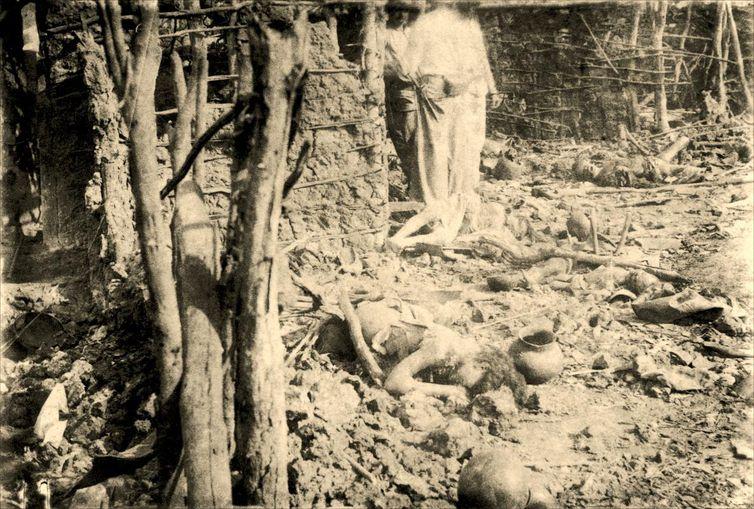 Fotos da coleção Flávio de Barros sobre a Guerra de Canudos