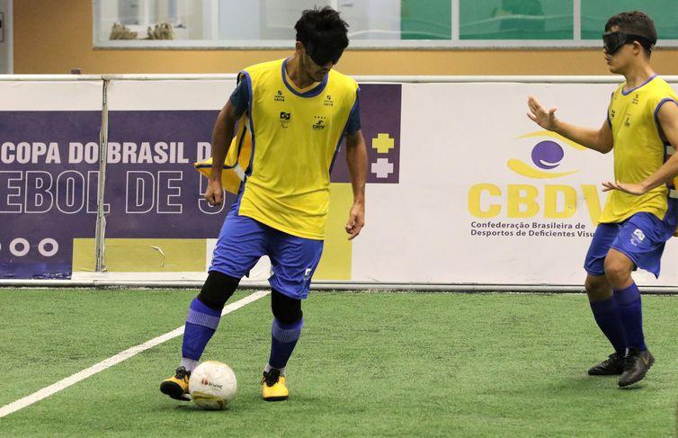 Futebol de 5, futebol de cinco, esporte paralímpico, CT Paralímpico Brasileiro