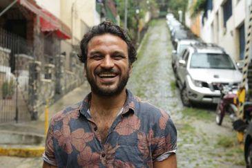 Empresário carioca e escritor Pedro Salomão