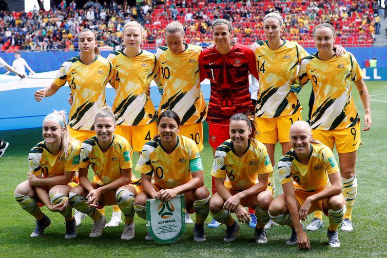 Seleção da Austrália na Copa do Mundo de Futebol Feminino - França 2019.