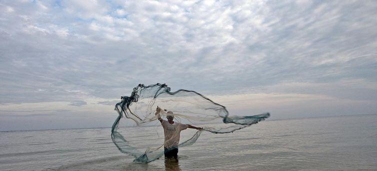 A pesca fantasma acontece quando o material dos pescadores fica perdido no mar