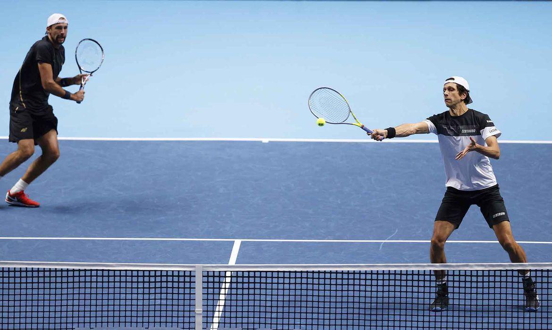 Marcelo Melo e Kubot no ATP Finals - Londres - duelo contra holandês Wesley Koolhof e o croata Nikola Mektic,