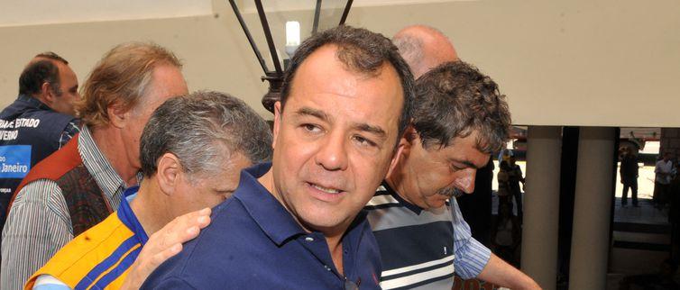 O ex-governador do Rio de Janeiro, Sérgio Cabral - Valter Campanato Arquivo/Agência Brasil