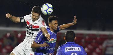 São Paulo 1 x 1 CSA