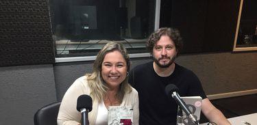 Katy Navarro e Maurício de Almeida