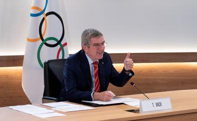 Thomas Bach, presidente do COI, jogos de tóquio