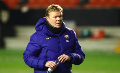 Técnico do Barcelona, Ronald Koeman