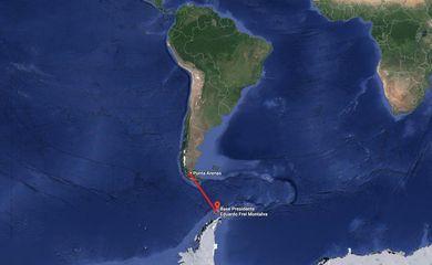 Força Aérea do Chile informou que