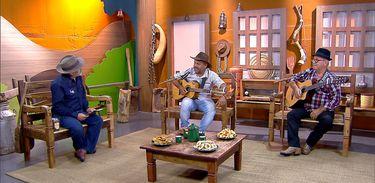 Luiz Rocha tem um dedo de prosa com os violeiros Luis Nei & Ary no Brasil Caipira