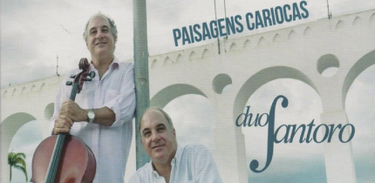"CD ""Paisagens Cariocas"", do Duo Santoro"