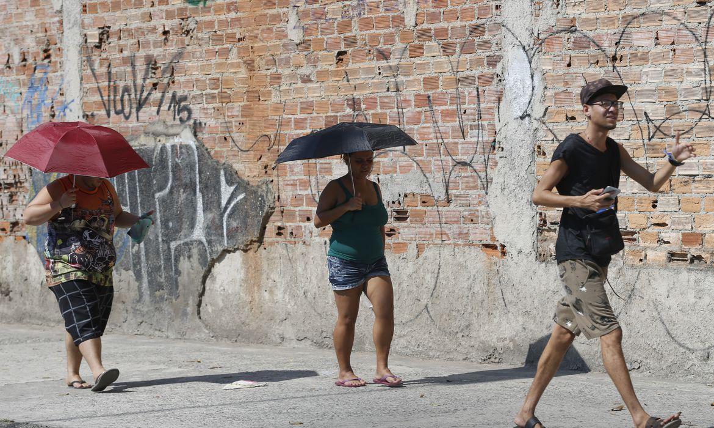 Onda de calor atinge o clima do Rio de Janeiro