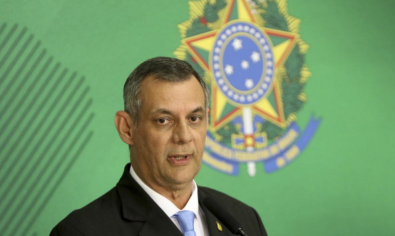 Briefing do Porta voz da Presidência da República Otávio Rêgo Barros.