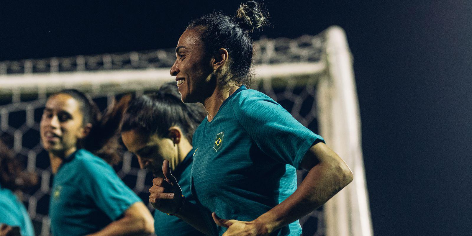Seleção feminina inicia preparação para amistosos contra Argentina