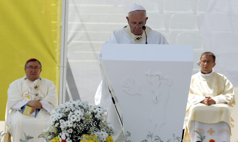 Papa Francisco em visita a Sarajevo, na Bósnia