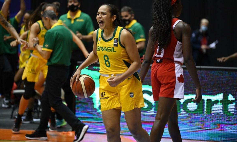 Brasil conquista bronze no AmeriCup - basquete feminino