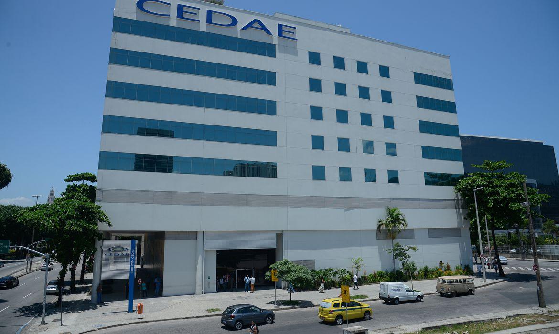 Fachada do edifício-sede da Cedae