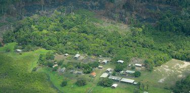 Desmatamento na Amazônia, região de Gurupá-Melgaço