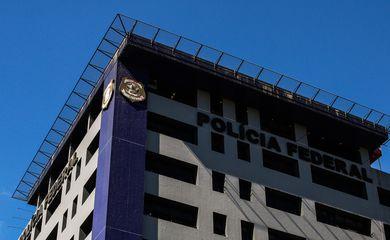 Fachada do Departamento de Polícia Federal - Superintendência Regional São Paulo, na Lapa.