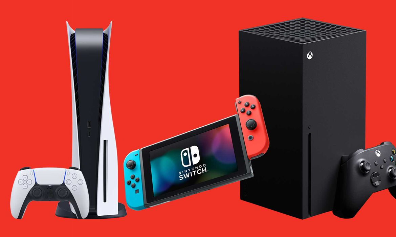 Consoles de videogames.