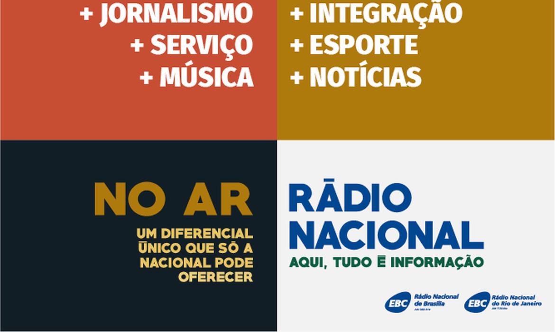 Rádios Nacional de Brasília e do Rio estreiam programação com foco no jornalismo