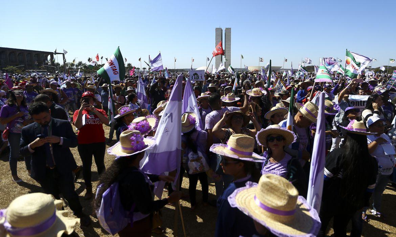Brasília recebe 6ª Marcha das Margaridas