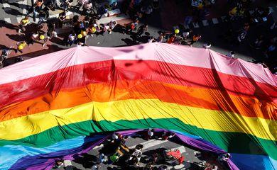 Parada Gay, São Paulo, 2019. REUTERS/Nacho Doce